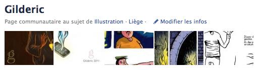 Gilderic Illustration & Photo : Page Fan Facebook