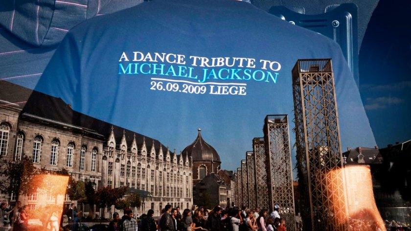 Flash Mob Michael Jackson Liege - photo Gilderic (Frederic Giet)