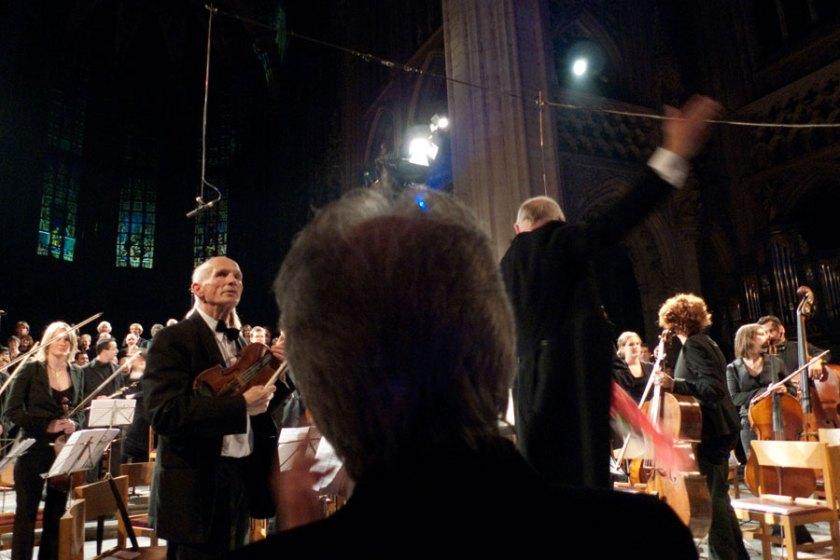 Concert Requiem Mozart à Saint-Jacques, Liege - applaudissements