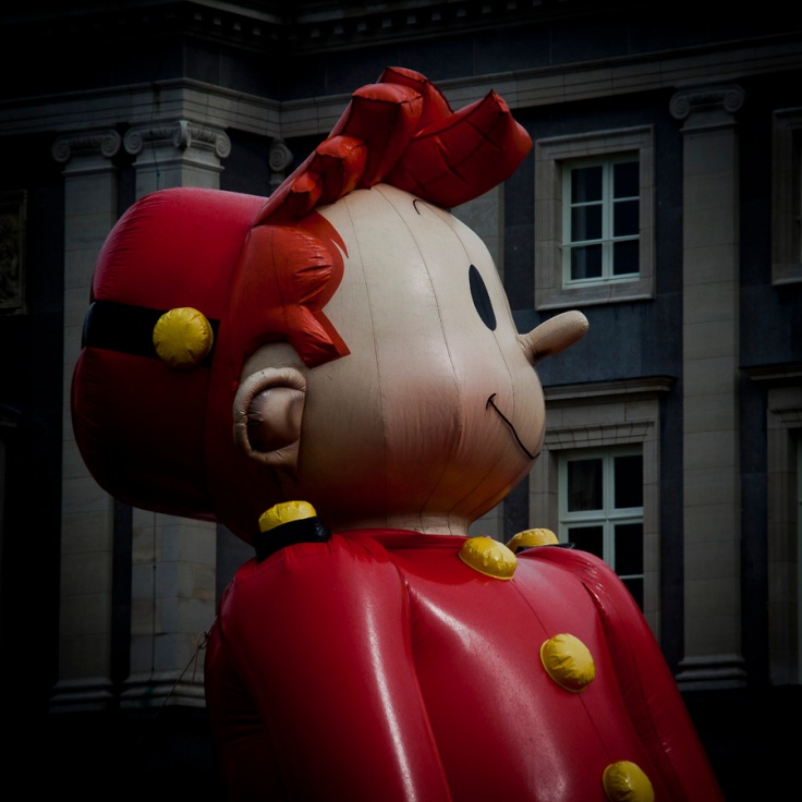 Spirou gonflable (Balloon's Day Parade, Bruxelles) - Photo : Fred Giet (Gilderic)