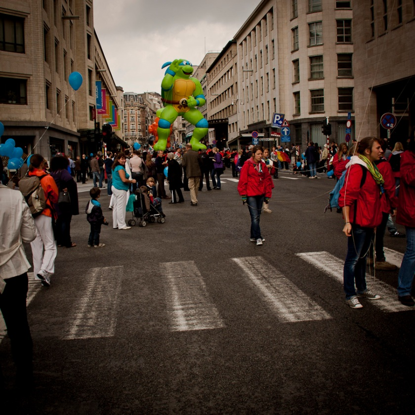 Tortue Ninja (Balloon's Day Parade, Bruxelles) - Photo : Fred Giet (Gilderic)
