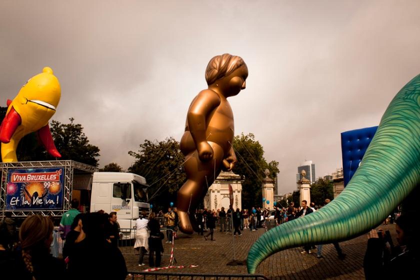 Manneken Pis Géant (Balloon's Day Parade, Bruxelles) - Photo : Fred Giet (Gilderic)