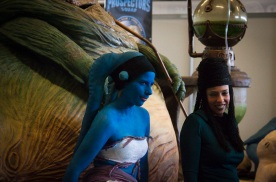Alien Girls (Star Wars cosplay FACTS 2010) Photo : Gilderic