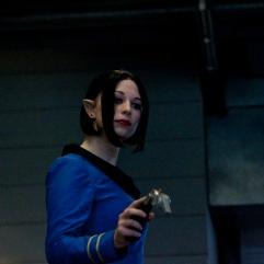 Mrs Spock (Star Trek cosplay FACTS 2010) - Photo : Gilderic