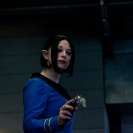 Mrs Spock (Star Trek cosplay FACTS 2010) - Photo : Gilderic