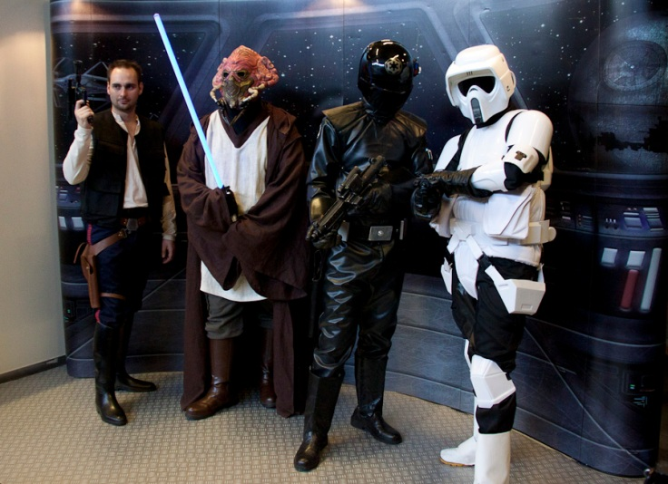 Han Solo, Jedi & Stormtrooper (Star Wars Cosplay FACTS 2010) - Photo : Gilderic