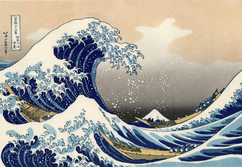 Grande Vague de Kanagawa (Hokusai)