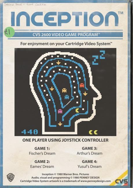 Inception - le jeu rétro 8-bit, imaginé par Penney Design