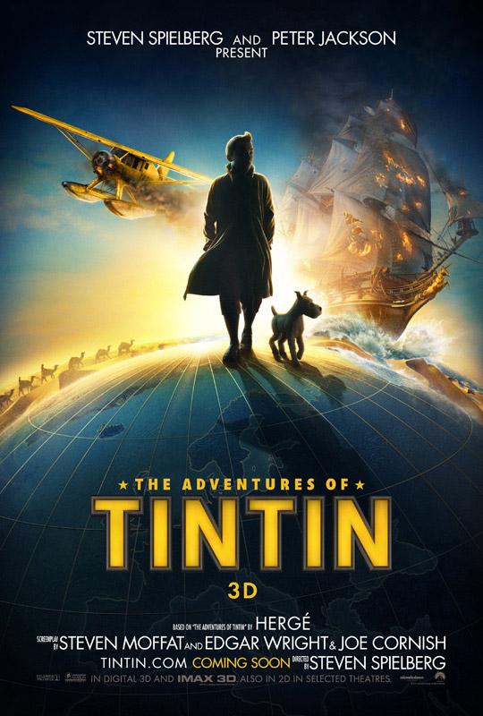 The Adventures of Tintin (poster international)