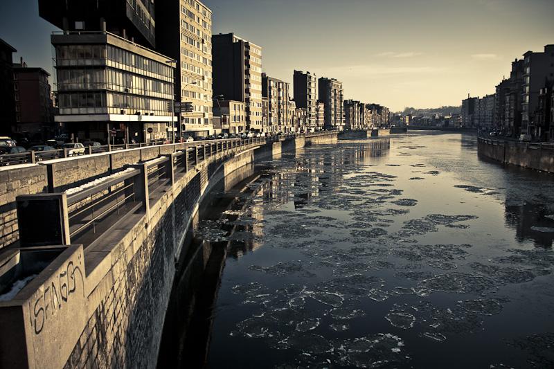 La cité sous la glace - LIège - Photo : Gilderic