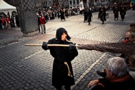 Grand coup de balai (Macrale noire) - Liège - Photo : Gilderic