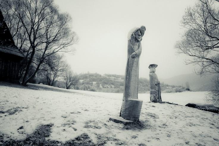 Les Totems de Vlkolinec - Photo : Gilderic