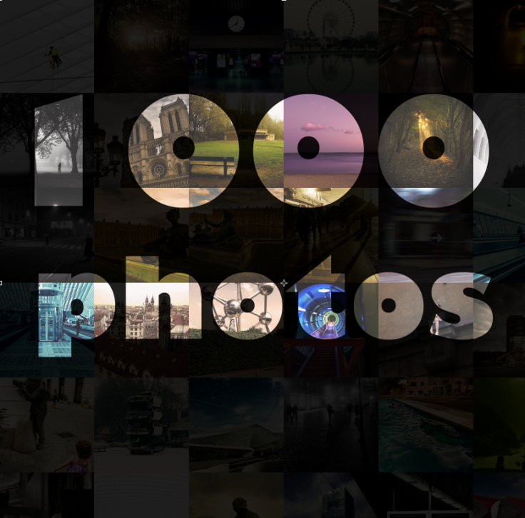 1000 photos (de Gilderic sur Flickr)
