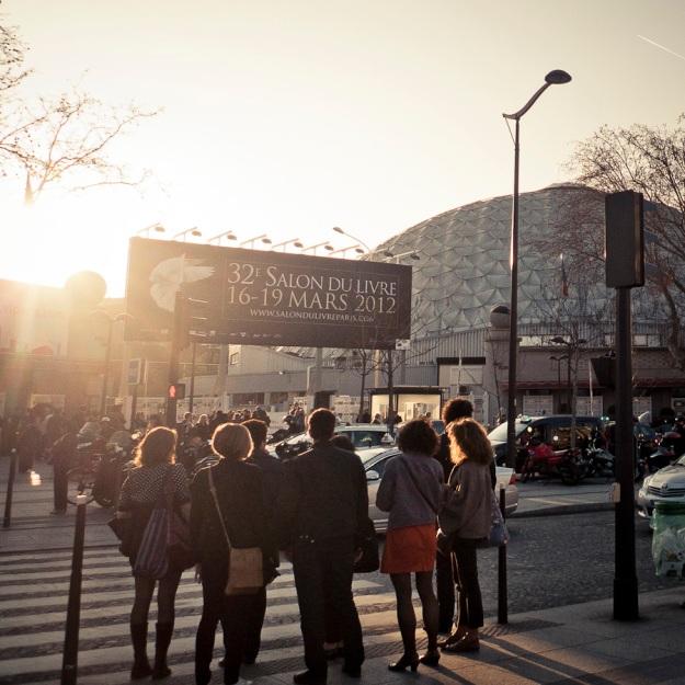 Vernissage du Salon du Livre, Porte de Versailles- Photo : Gilderic