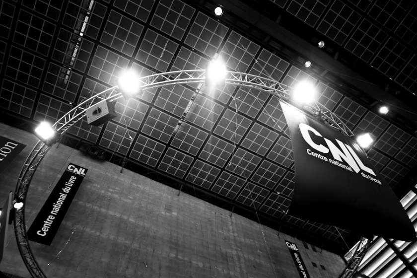 CNL (Centre national du Livre), Salon du Livre, Paris - Photo : Gilderic