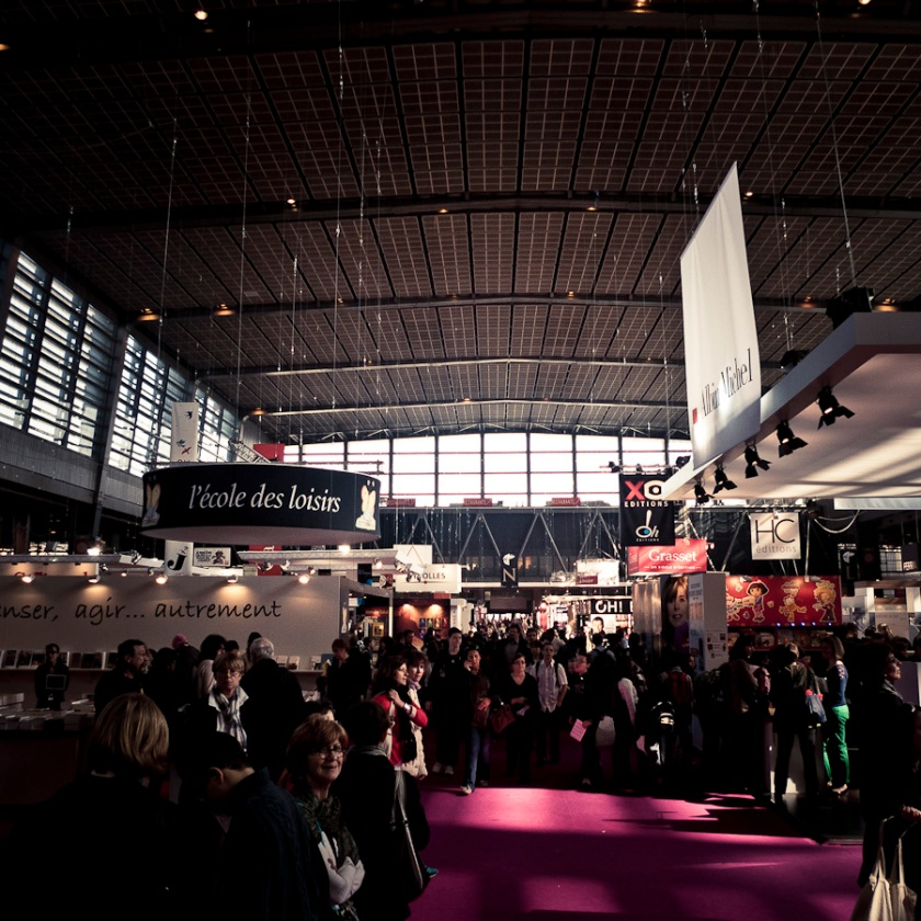 Salon du Livre, Paris, Porte de Versailles - Photo : Gilderic
