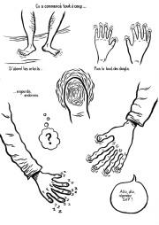 Vilain-Barré (page 2) - un roman graphique de Gilderic
