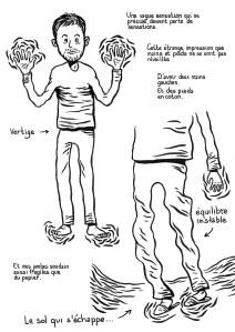 Vilain-Barré (page 3) - un roman graphique de Gilderic