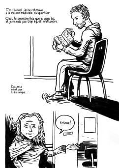 Vilain-Barré (page 4) - un roman graphique de Gilderic