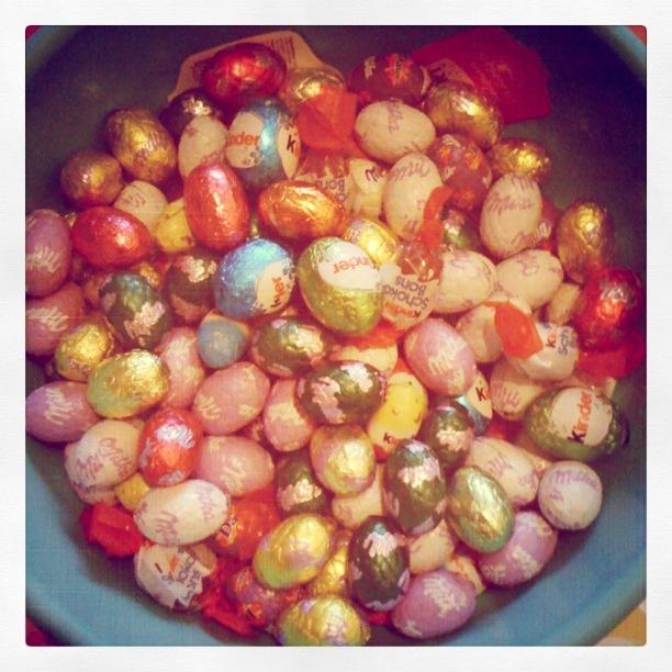 Oeufs de Pâques (Instagram) - Photo : Gilderic