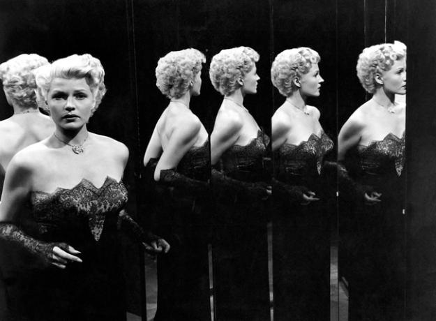 La Dame de Shanghai (Rita Hayworth), film d'Orson Welles