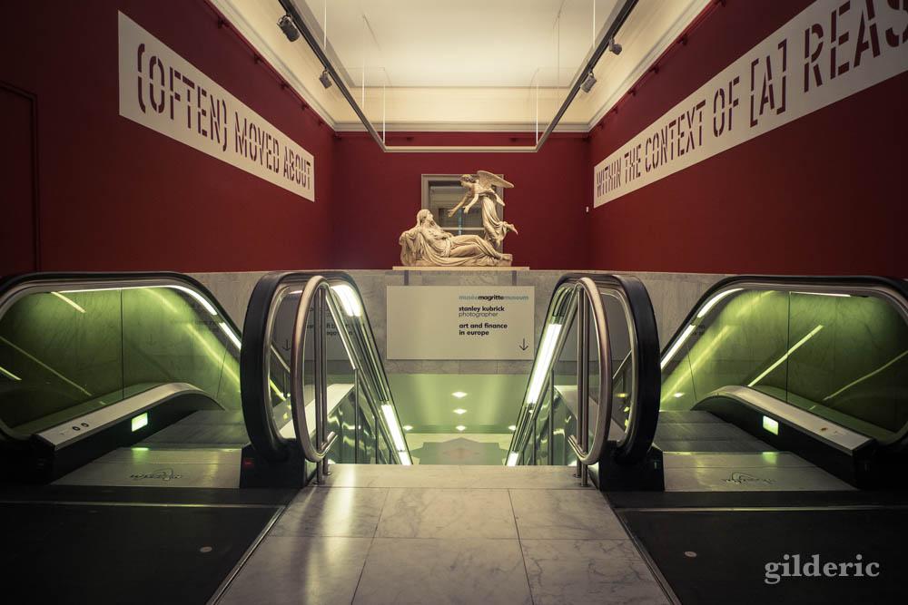 Entre Magritte et Kubrick, au Musées Royaux des Beaux-Arts à Bruxelles