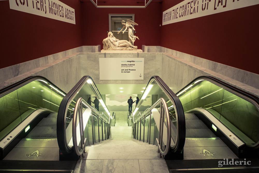 Entre Magritte et Kubrick, au Musées Royaux des Beaux-Arts à Bruxelles (version alternative)