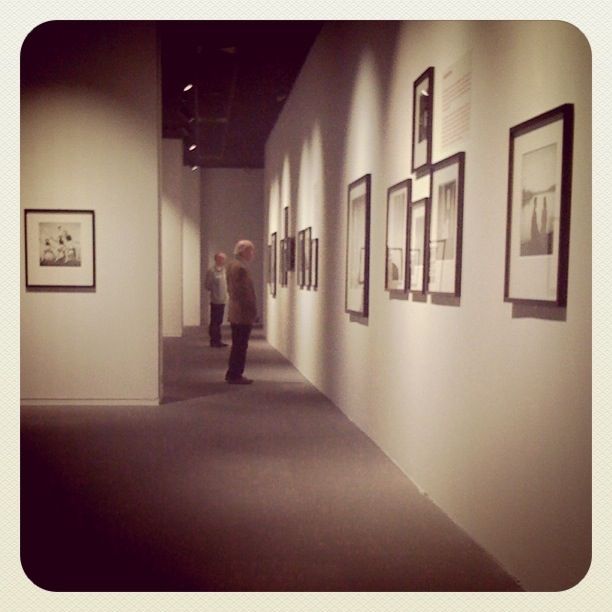 """Exposition """"Kubrick photographer"""" (Musée royaux des Beaux-Arts de Bruxelles) - Photo (instagram) de Gilderic"""