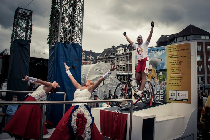 "Char ""Tour de France"" (Fêtes de Wallonie, Liège, 2011) - Photo : Gilderic"
