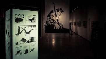 A l'ombre du silence, rétrospective Comès, BAL, Liège (Photo : Gilderic)