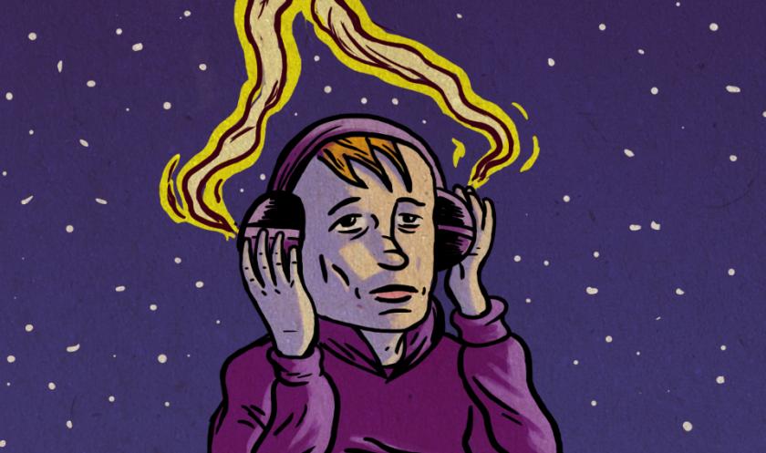 Musique ! (Moonwalking, détail) - Illustration : Gilderic