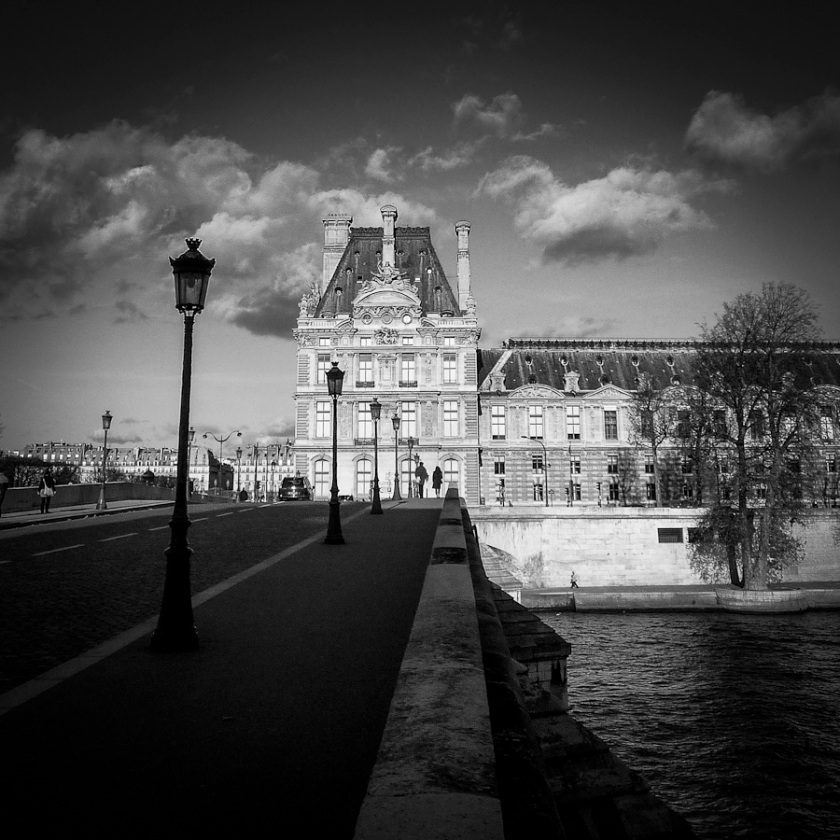 Paris immortelle (Louvre) - Photo : Gilderic