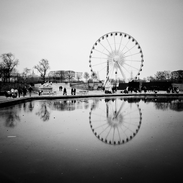 Paris, Jardin des Tuileries - Photo : Gilderic
