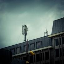 L'antenne (Place Saint- Etienne, Liège) - Photo : Gilderic