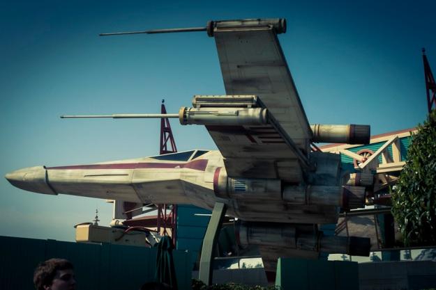 X-Wing Fighter (Star Tours, Disneyland Paris) - Photo : Gilderic