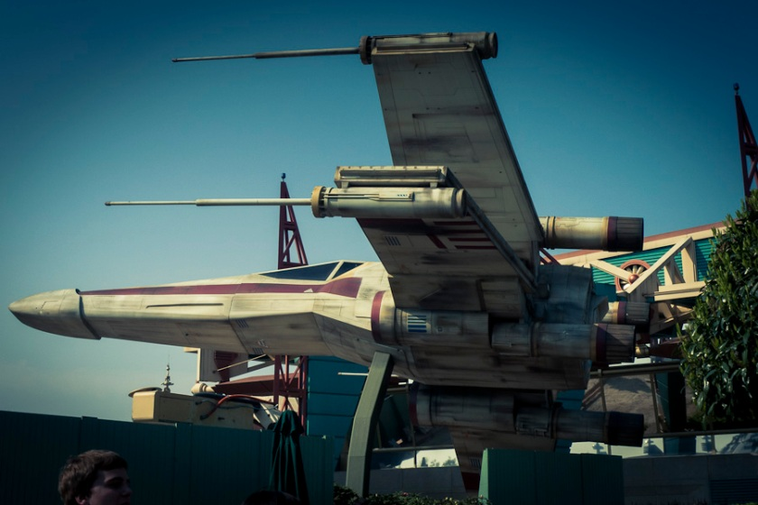 X-Wing Fighter (Star Tours, Disneyland Paris) - Photo : Gilderic