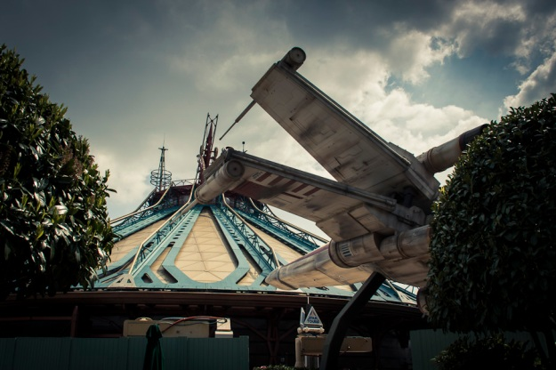 X-Wing Fighter (Star Tours & Space Mountain, Disneyland Paris) - Photo : Gilderic