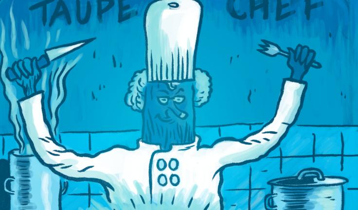Taupe Chef, épisode 6 (cuisine tv) - Une BD de Gilderic