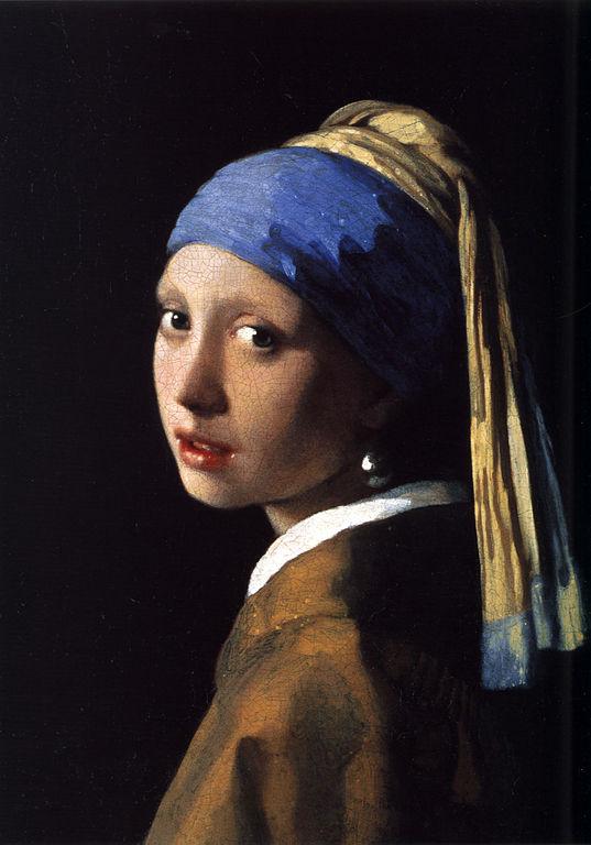 La Jeune fille à la Perle - Johannes Vermeer