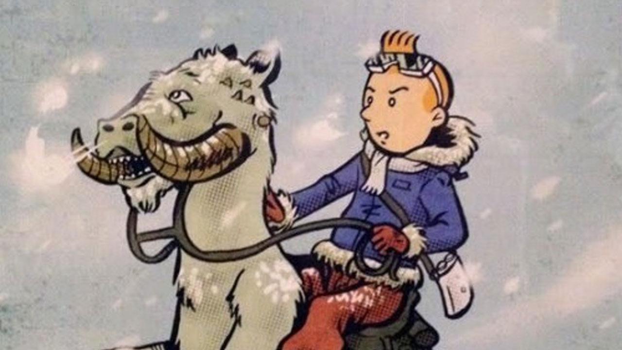 Aventures de Tintin : parodies et mashups
