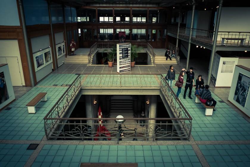 Centre Belge de la Bande-dessinée (comicscenter) - Photo : Gilderic
