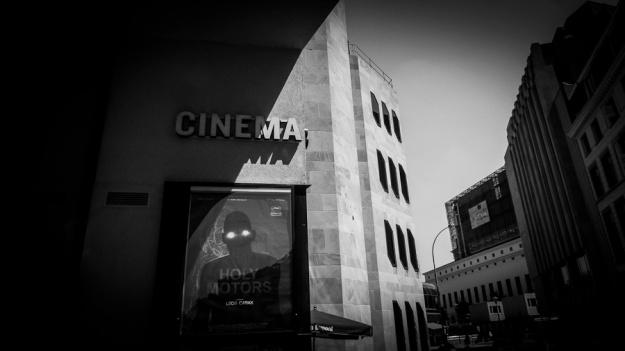 Cinema (n&b) - Sauvenière, Liège - Photo : Gilderic