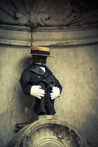 Manneken Pis, Bruxelles - Photo : Gilderic