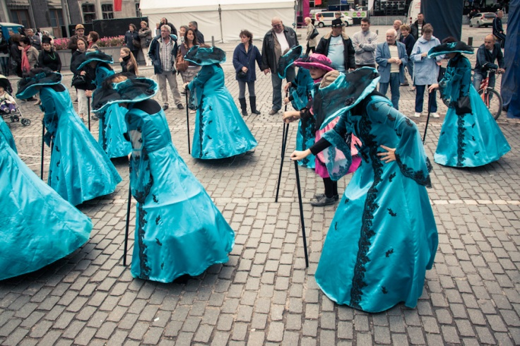 Princesses (Fêtes de Wallonie, Liège) -Photo : Gilderic