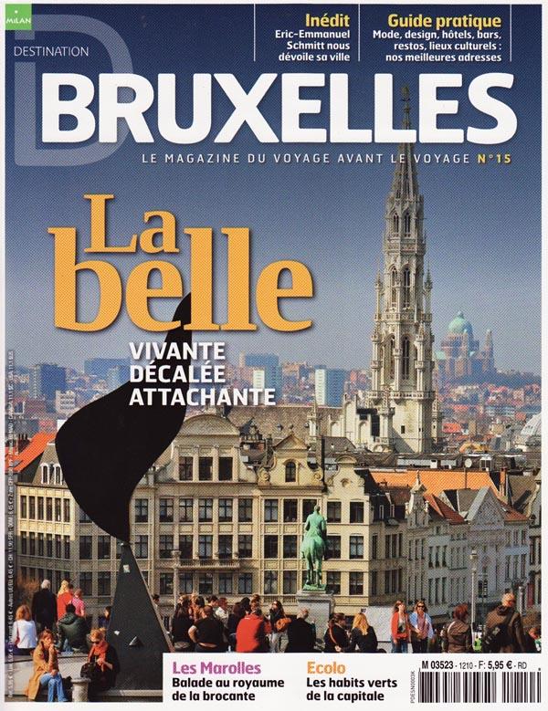 Destination Bruxelles - un magazine Milan Presse