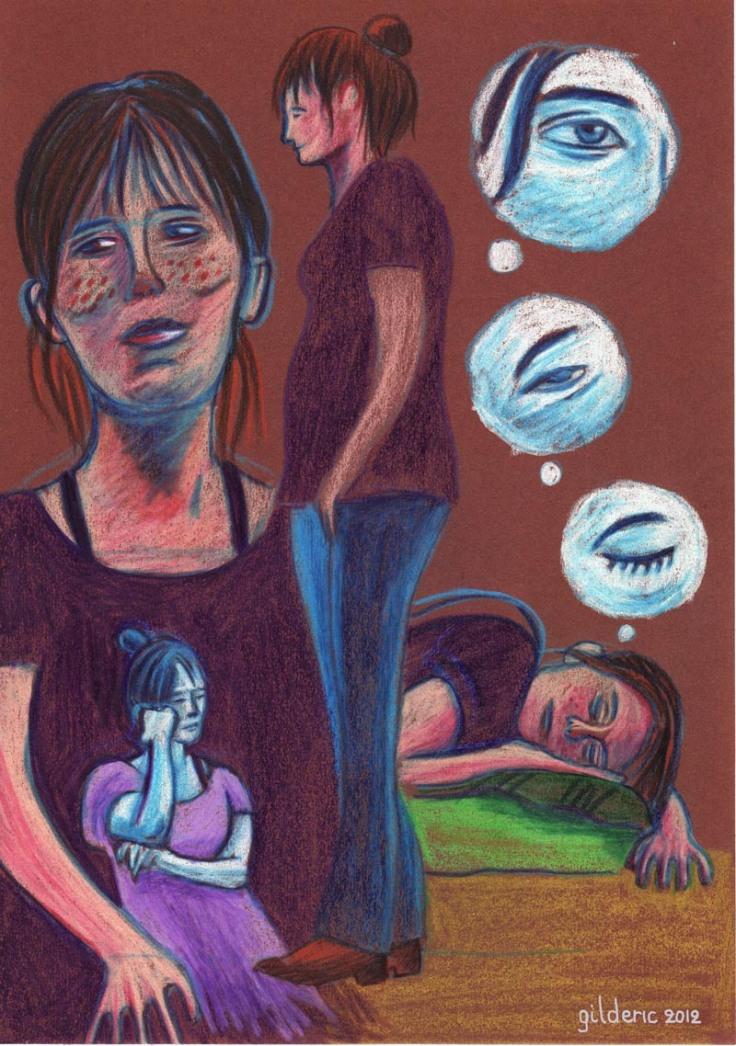 Les rêves de la comédienne - Dessin : Gilderic