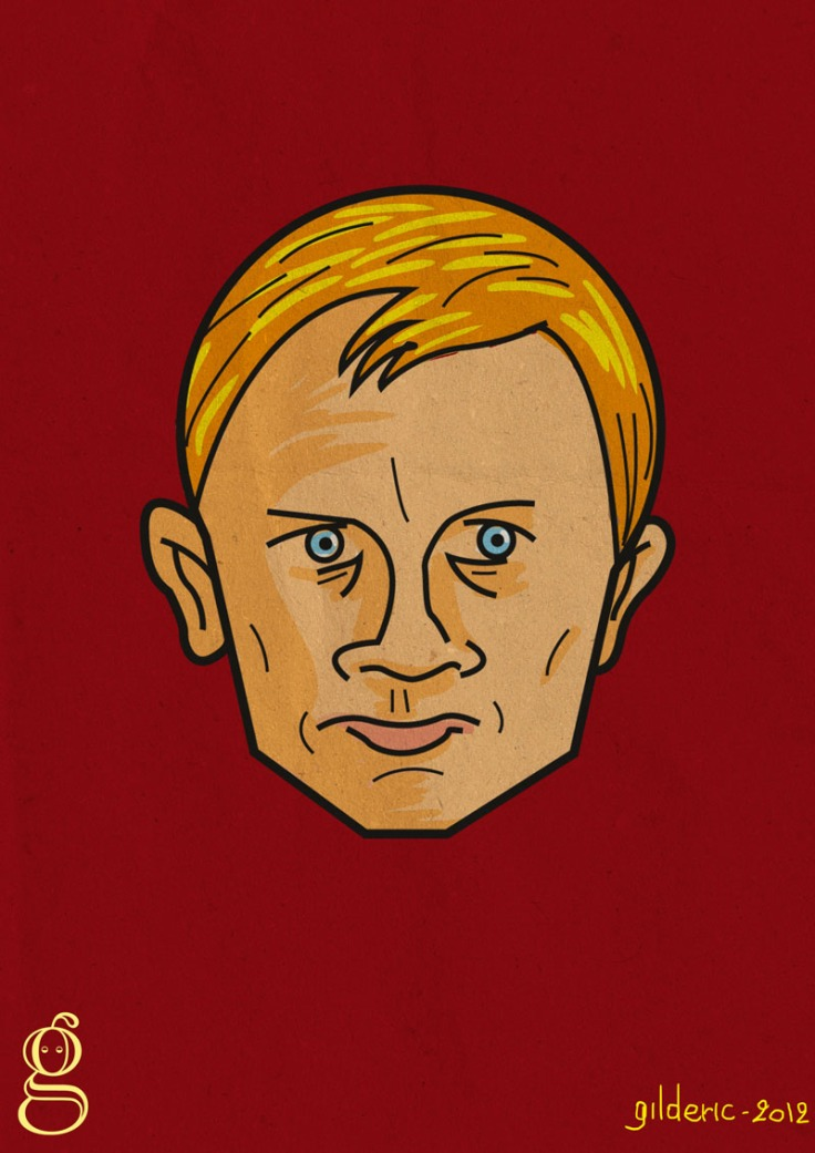 Daniel Craig is James Bond - Illustration vectorielle de Gilderic