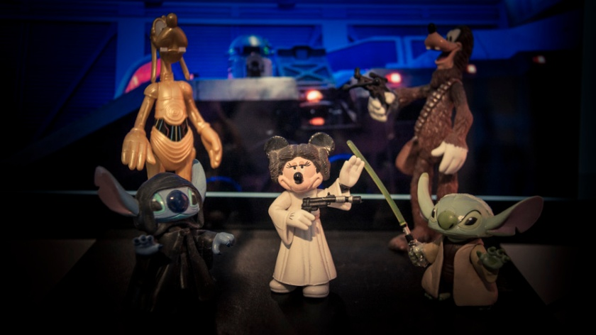 Toys Disney Star Wars - Photo : Gilderic