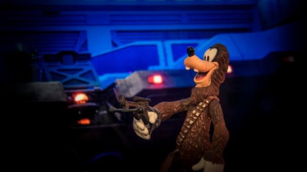Toys Disney Star Wars : Goofybacca - Photo : Gilderic