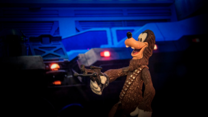 Toys Disney Star Wars : Goofybacca - Photo : Gilderic
